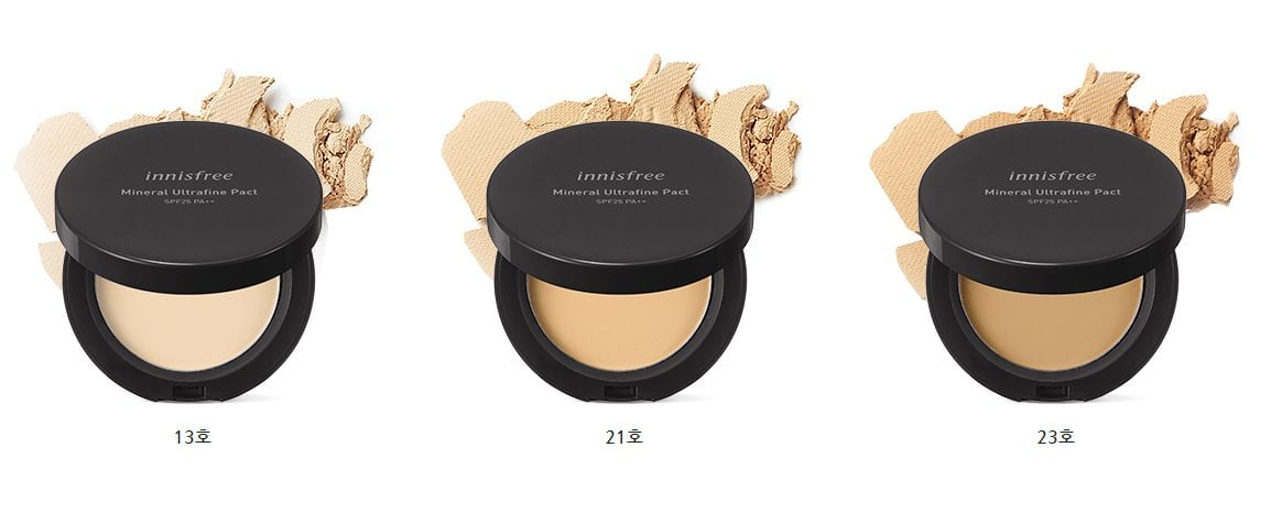 innisfree mineral ultrafine pact2
