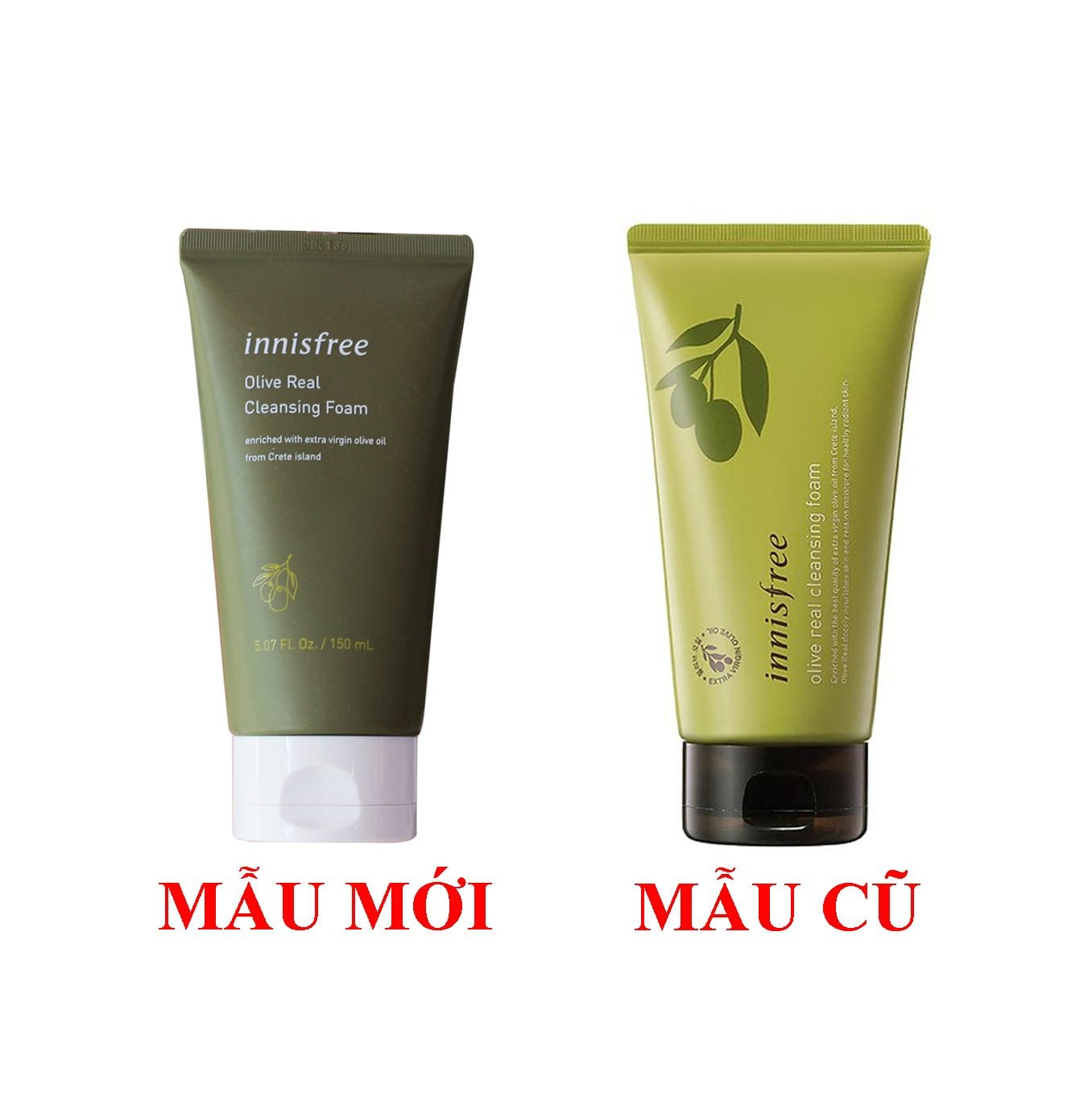 Innisfree Olive Real Cleansing Foam 2
