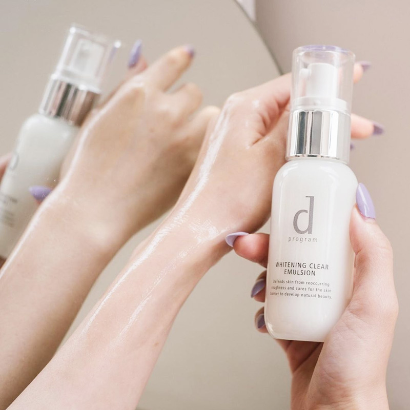 D Program Whitening Clear Lotion